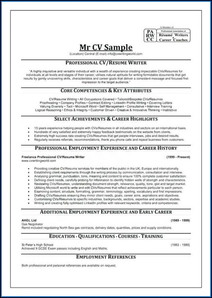 Resume Writing Service Top 10