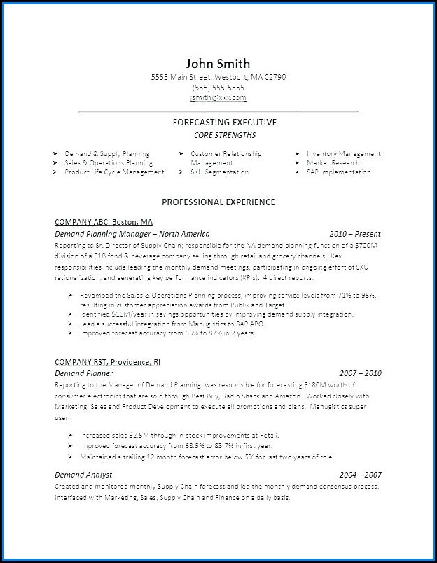 Best Executive Resume Service