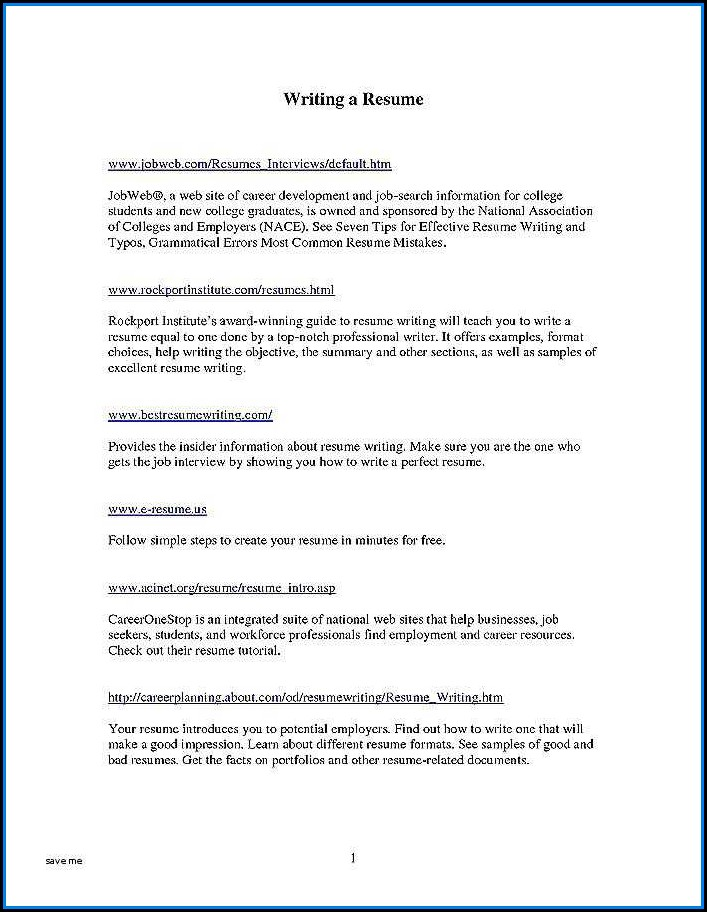 Best Resume Writer Nyc