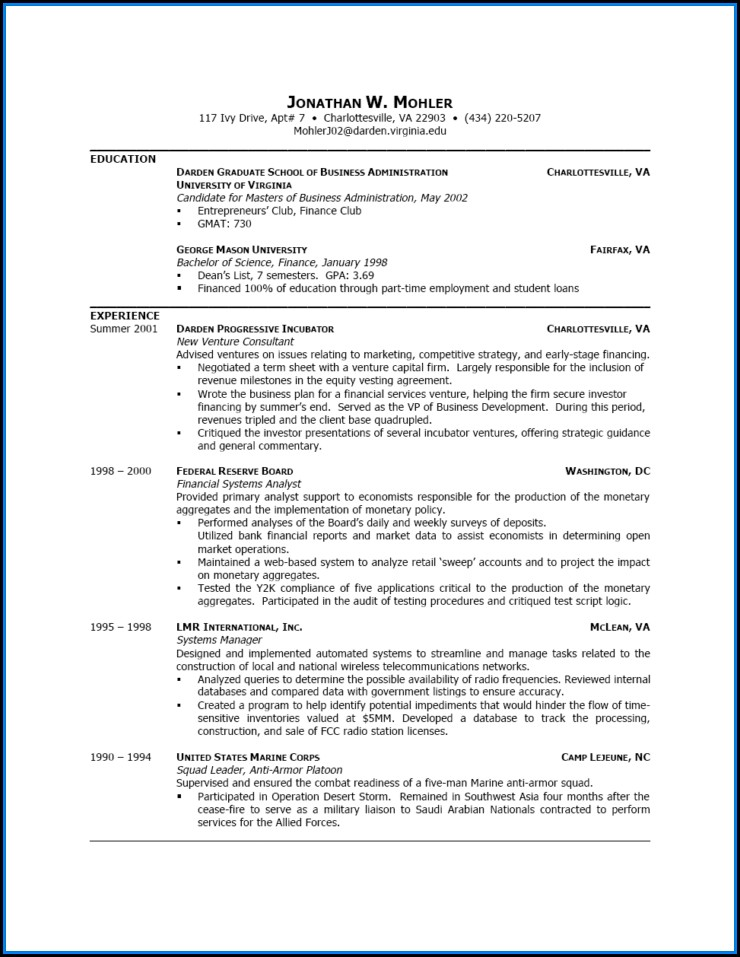 Best Resume Writing Templates