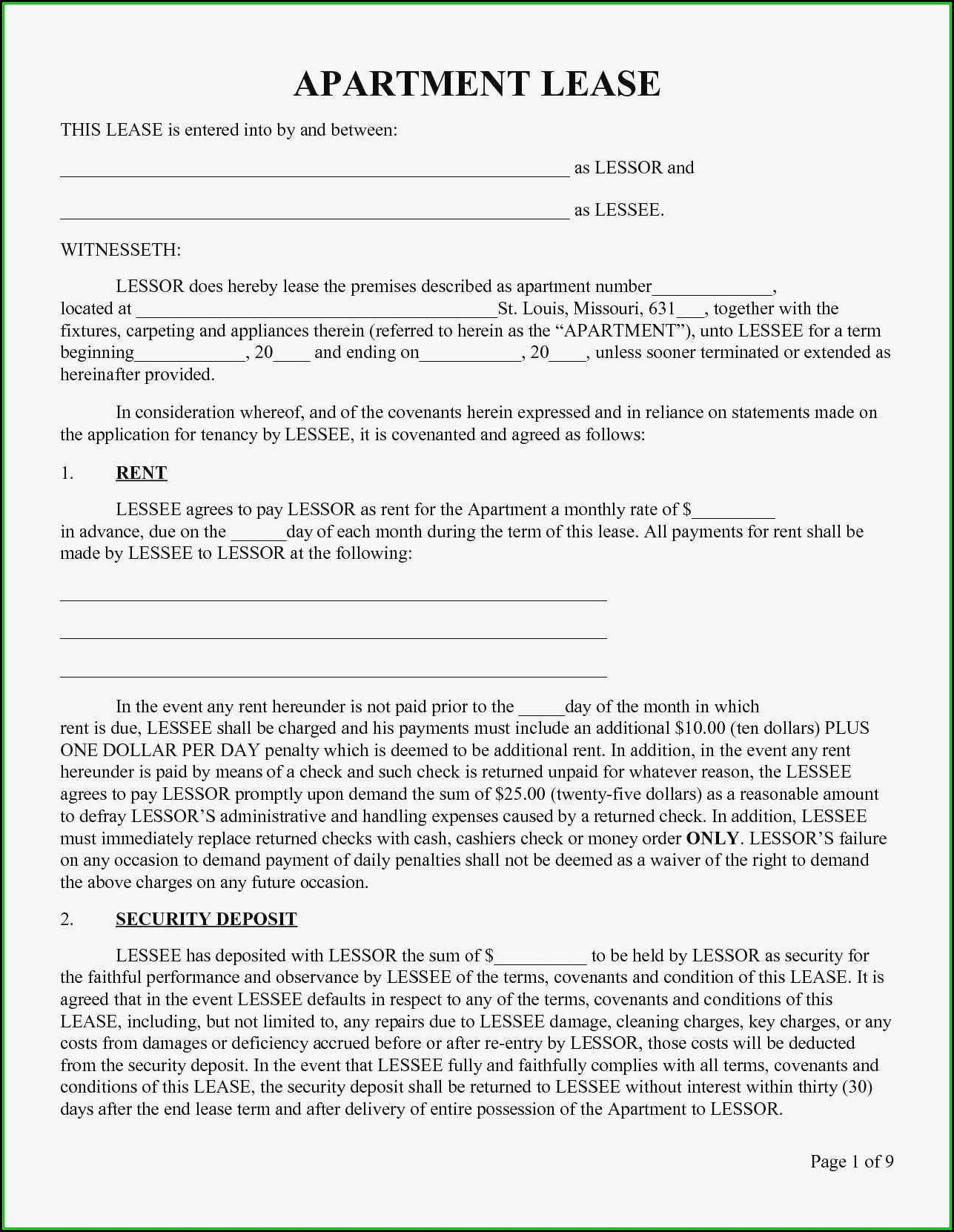 Blank Quit Claim Deed Form Indiana