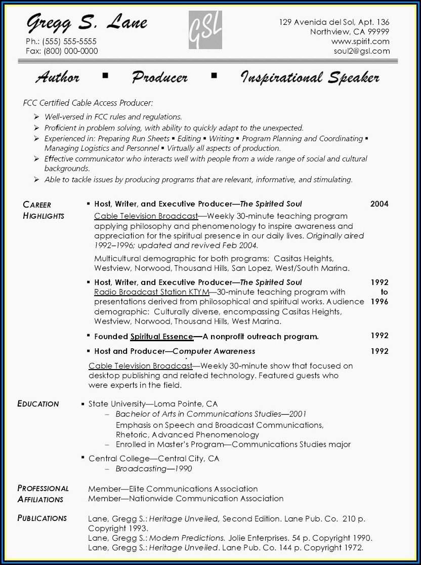 Executive Resume Writer Atlanta