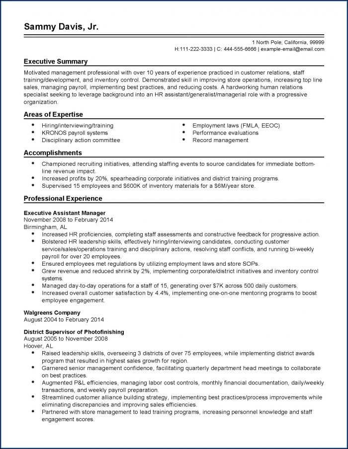 Executive Resume Writing Charlotte Nc
