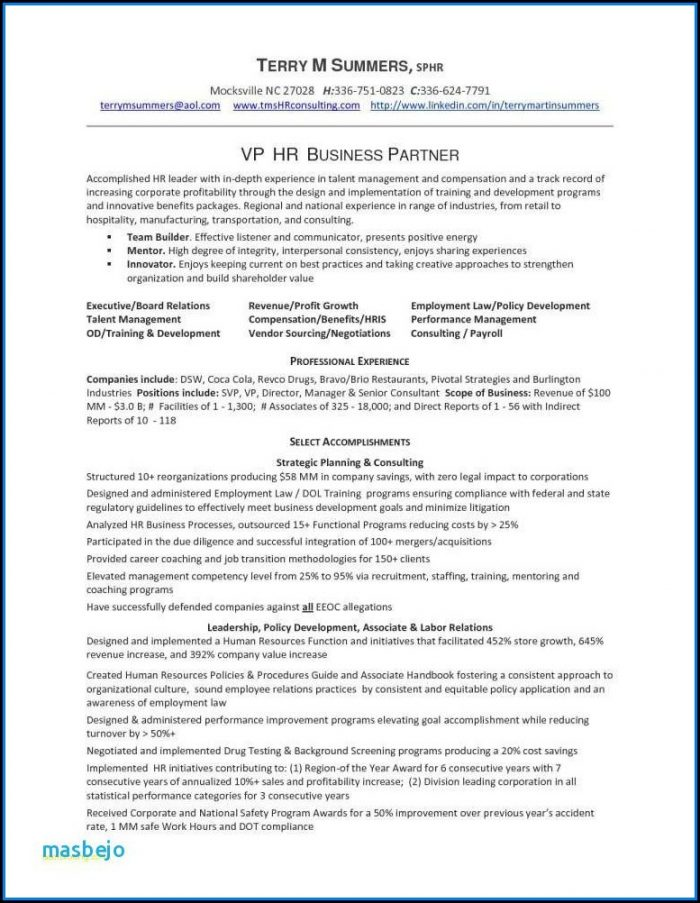 Executive Resume Writing Service Dallas