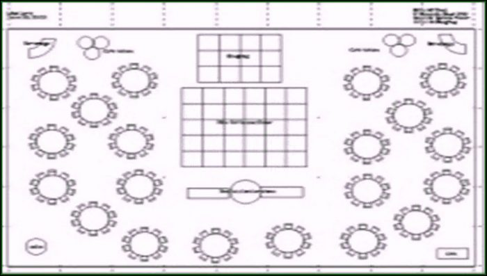 Banquet Floor Plan Template