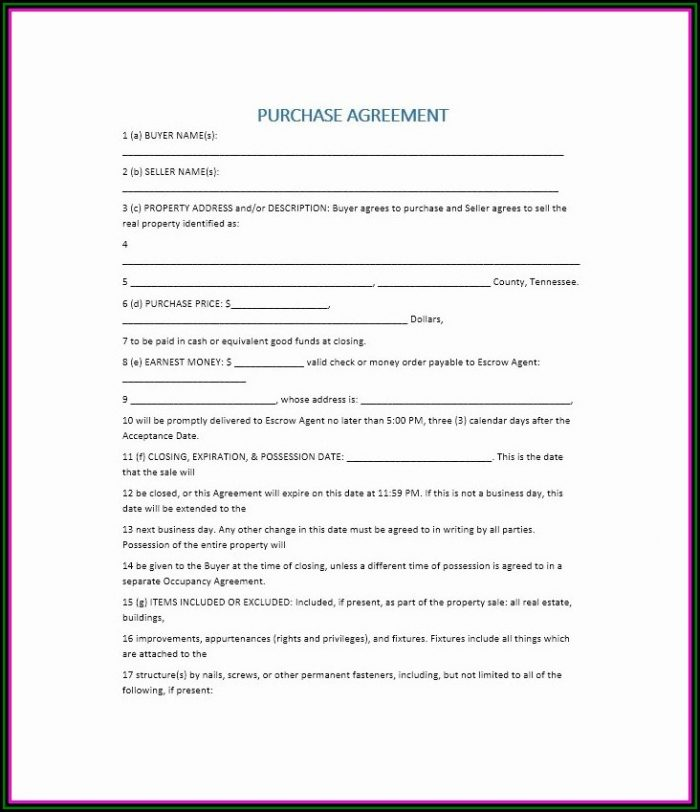 Buy Sell Agreement Template California