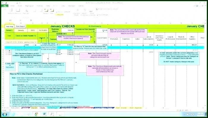 Construction Project Accounting Excel Template