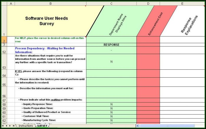 Crm Requirements Gathering Template