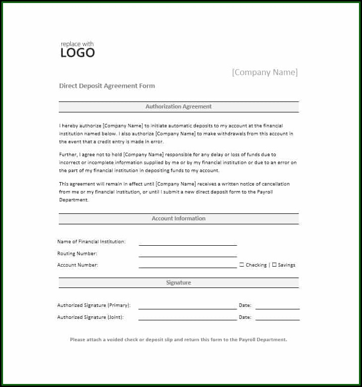 direct-deposit-authorization-form-template Job Application Form Walmart Canada on printable for, burger king,