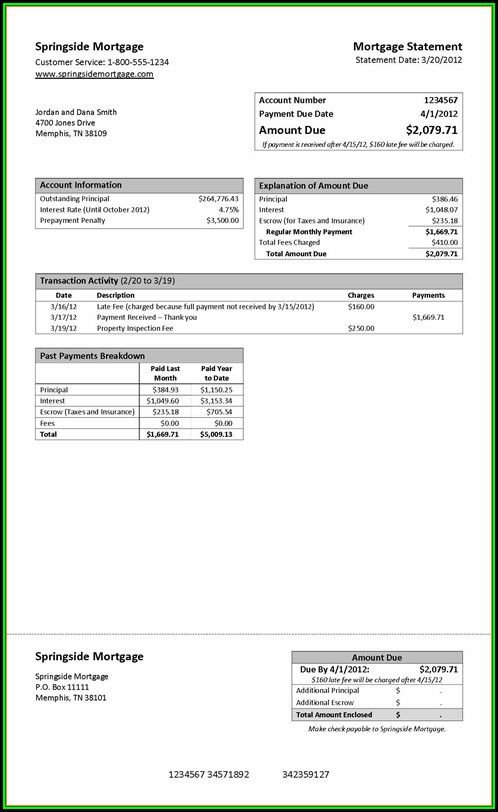 Chase Bank Statement Template Pdf