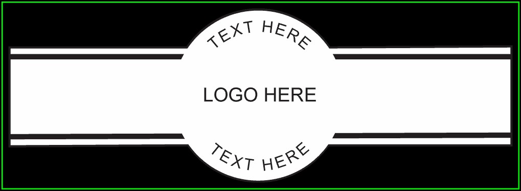 Cigar Band Label Template