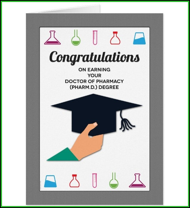 Congratulations Graduation Card Template