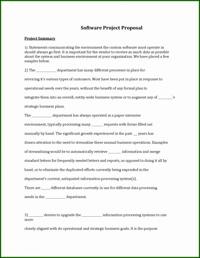 Contract Proposal Template Doc