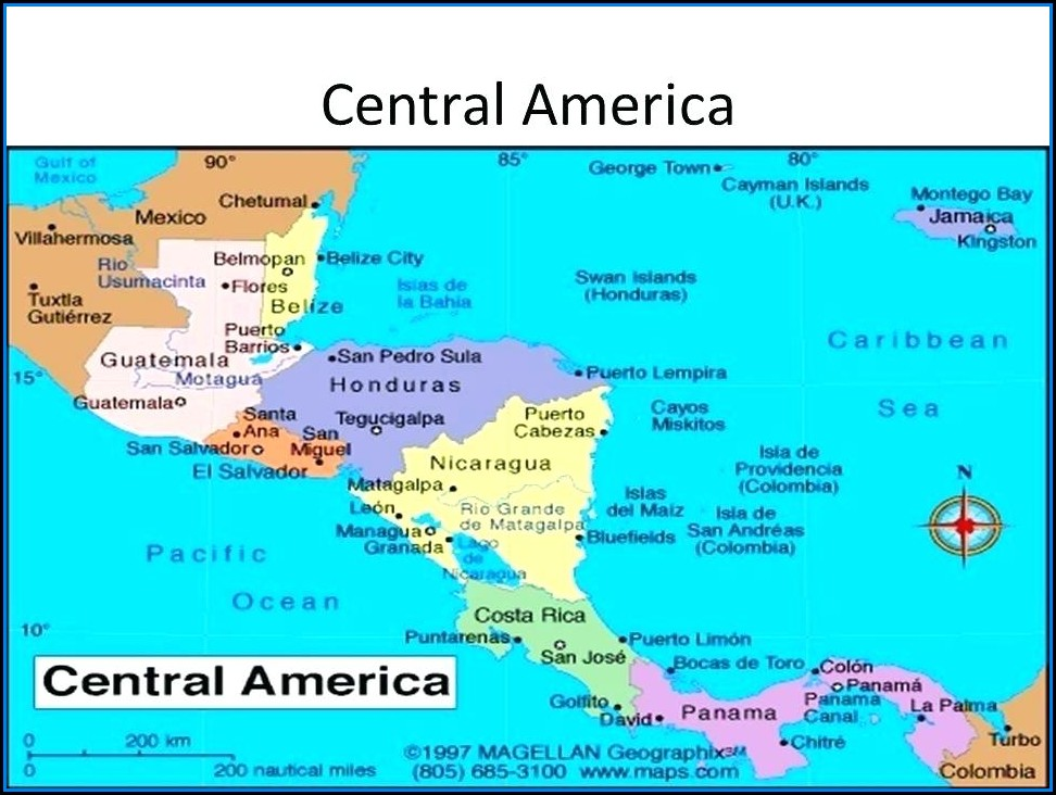 Garmin Maps For Mexico And Central America