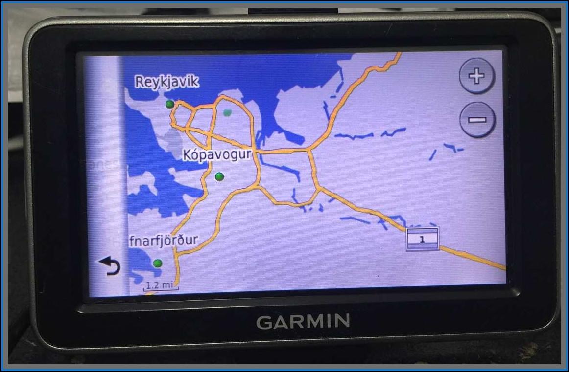 Garmin Nuvi Iceland Map