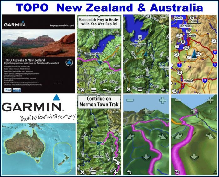 Garmin Topo Map Australia & New Zealand