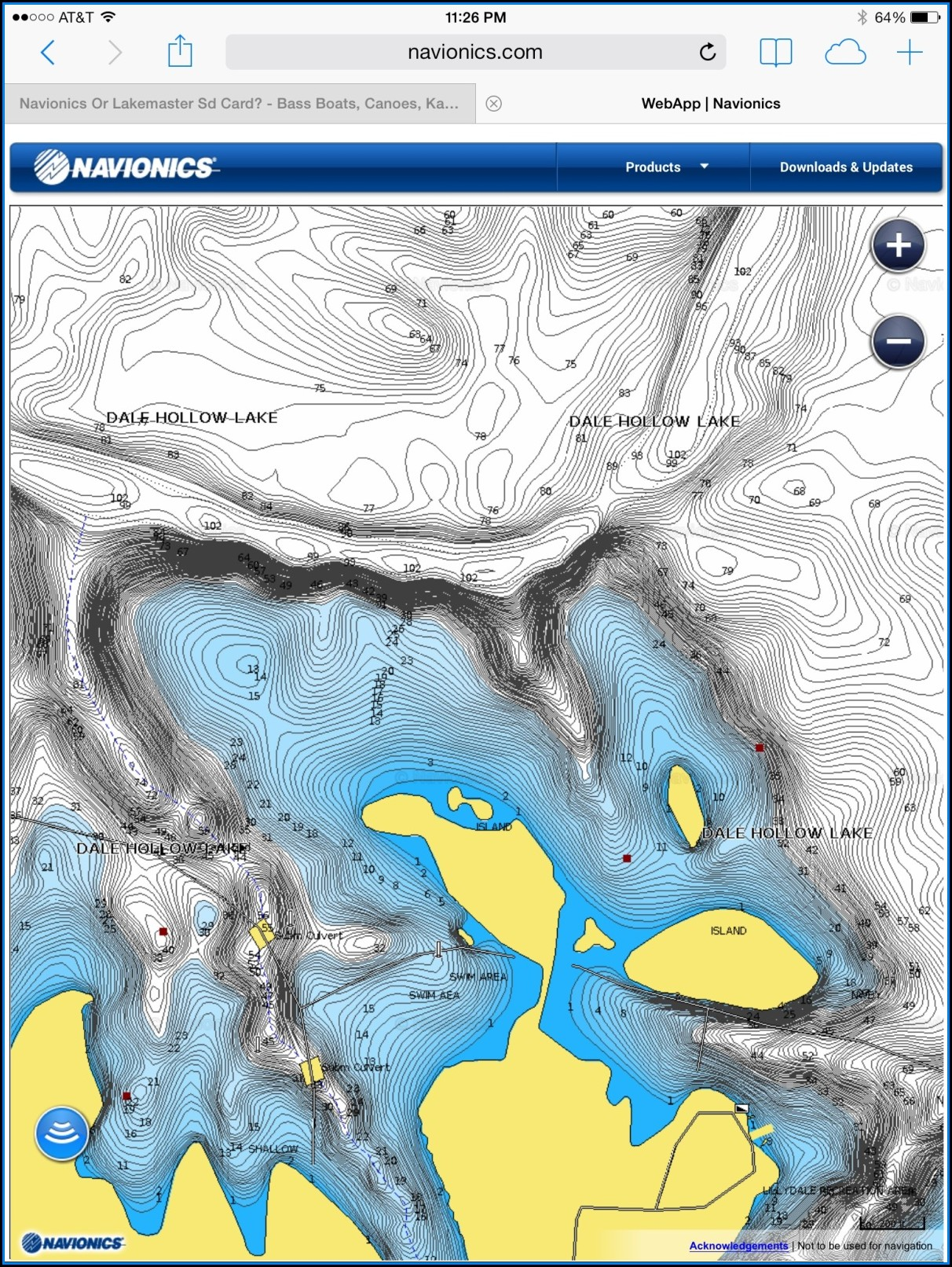 Lakemaster Maps Vs Navionics
