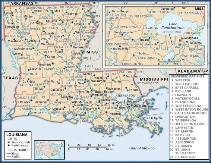 Land Ownership Maps Louisiana