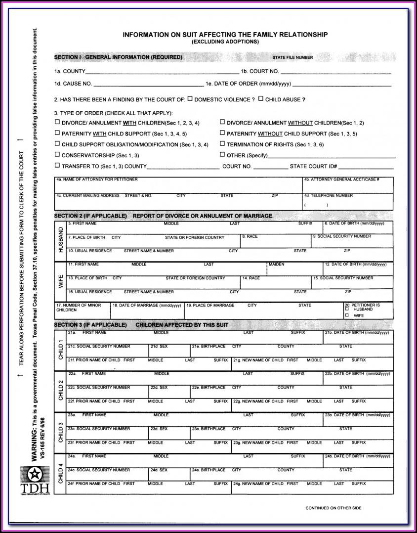 El Paso County Court Self Help Forms