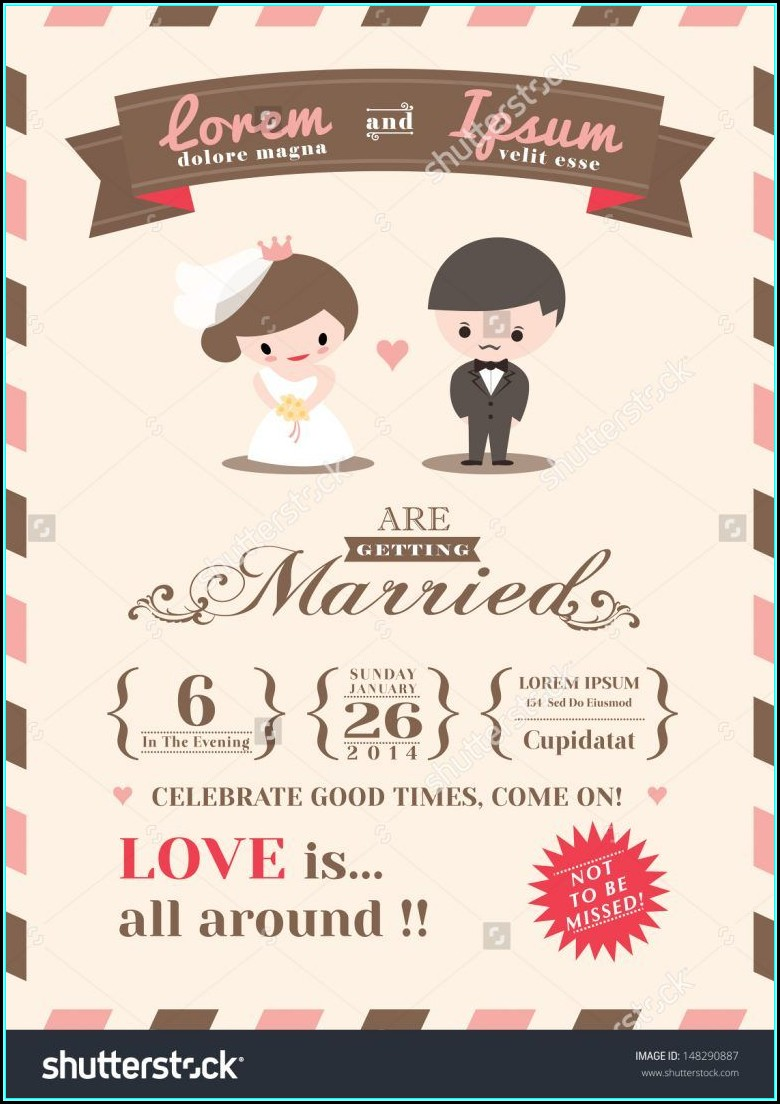 Ecard Wedding Invitation Templates