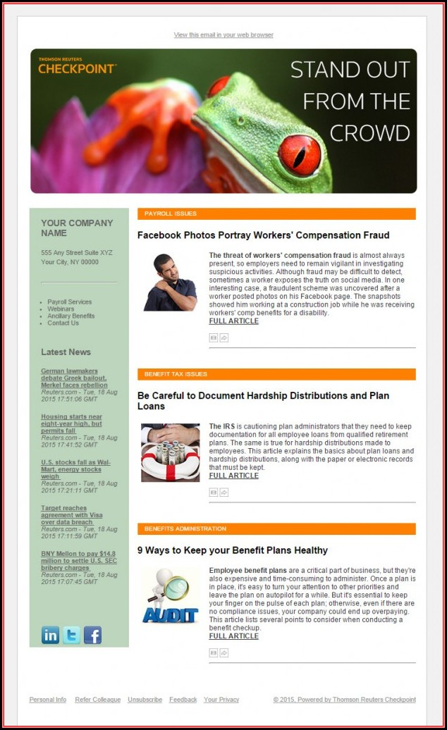Employee Newsletter Template Microsoft Word