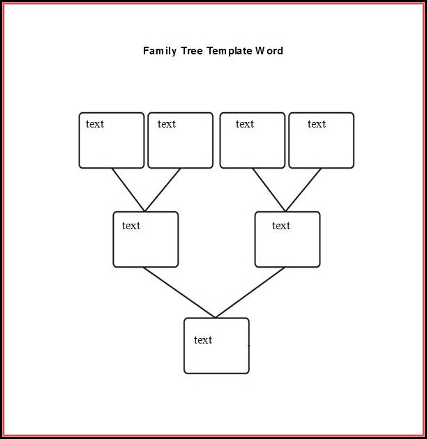 Family Tree With Photos Microsoft Templates
