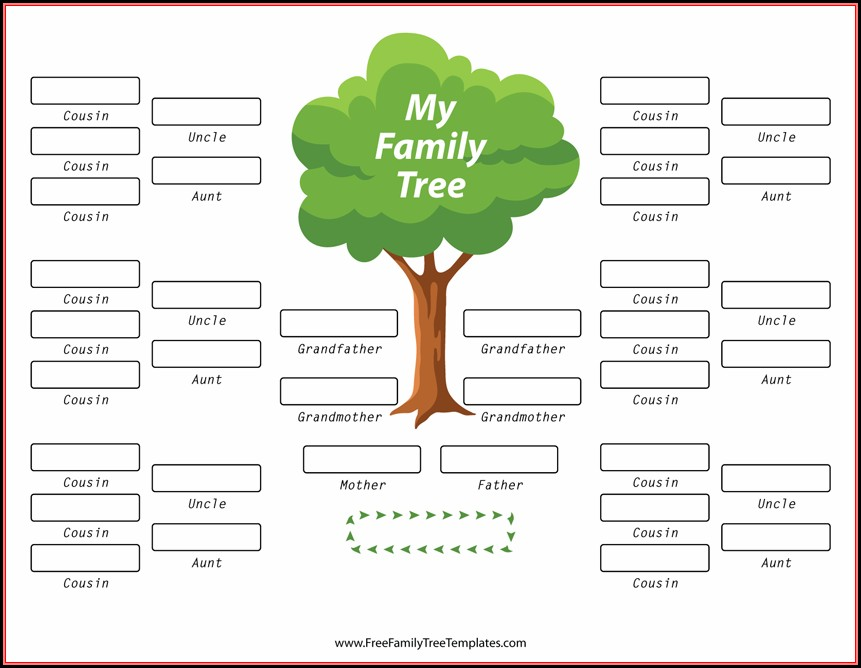 Family Tree With Template