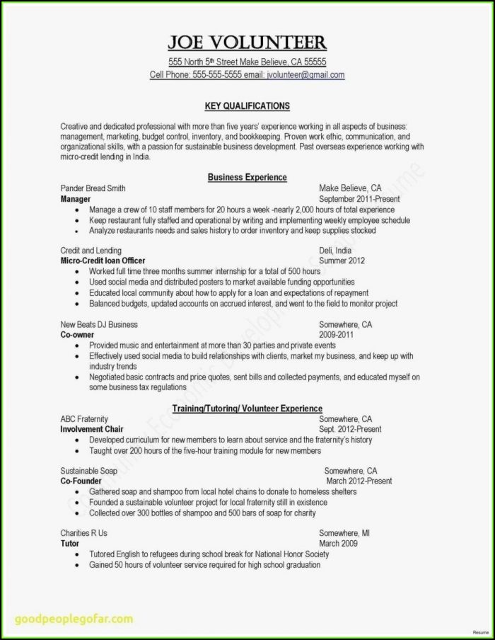 Free Combination Resume Template 2017