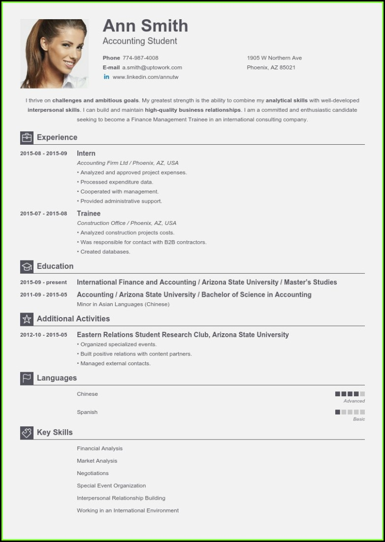 Free Download Online Resume Builder
