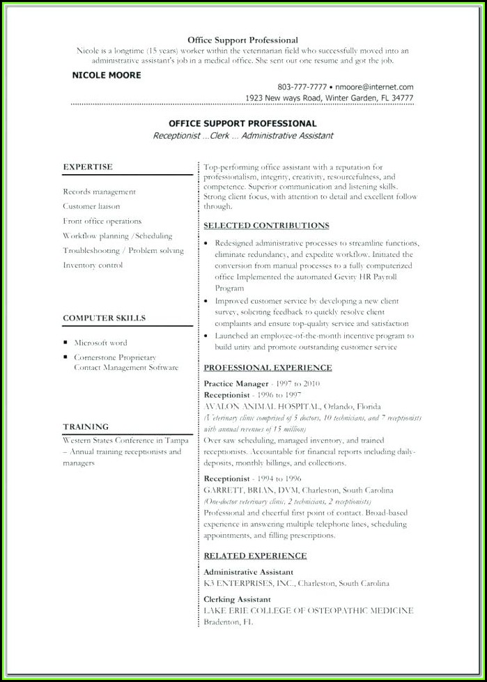 Free Downloadable Professional Resume Templates 2017