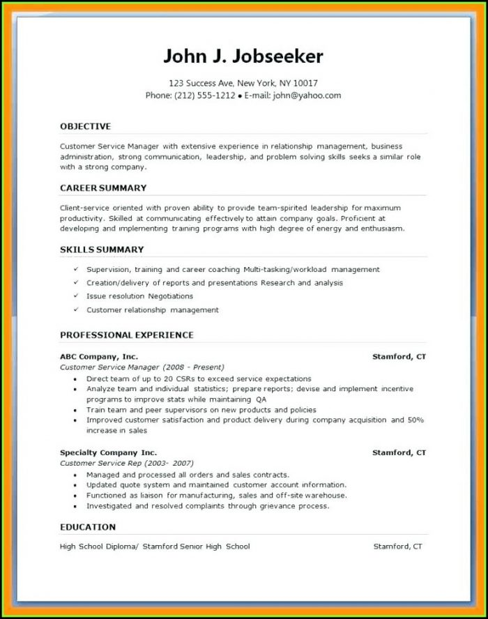Free Downloadable Resume Templates Microsoft Word