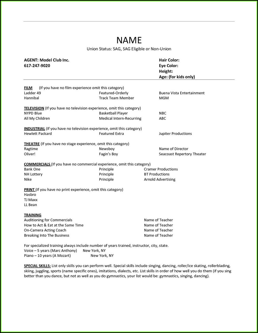 Free No Pay Resume Builder