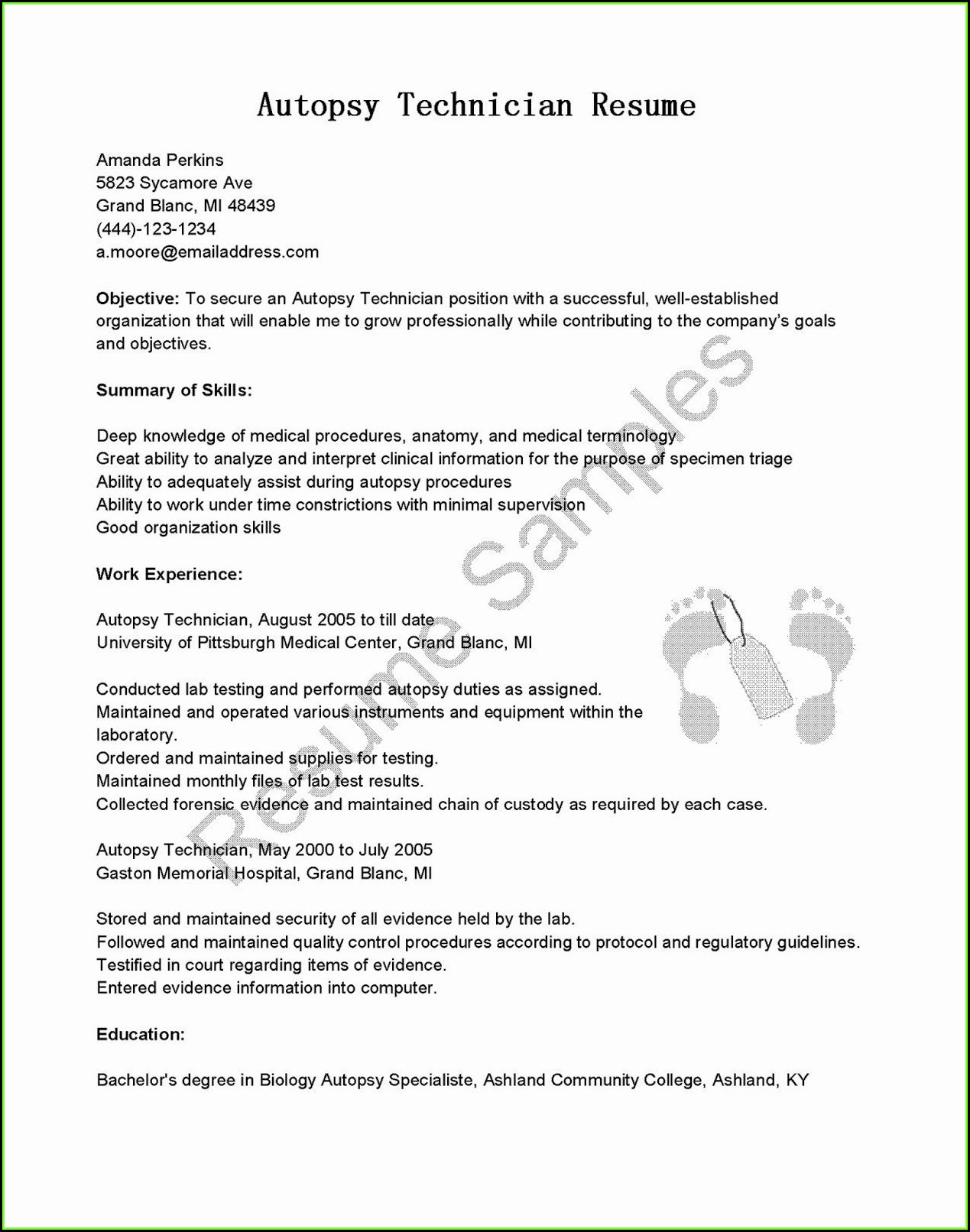 Free Resume Builder To Save To Computer