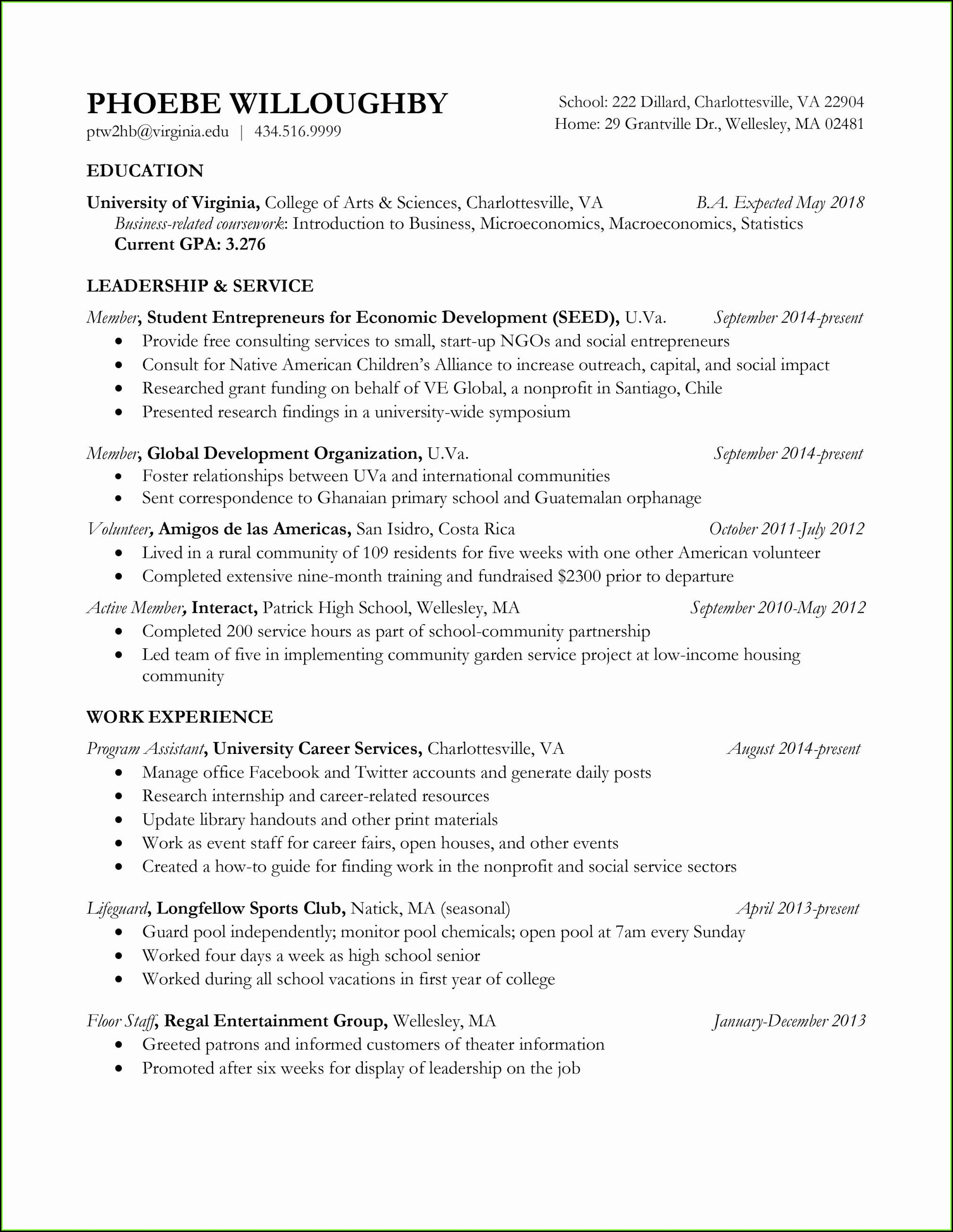 Free Sample Resume Kitchen Helper