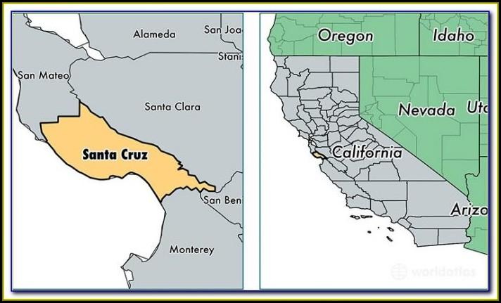 Map Of Cities In Santa Clara County California