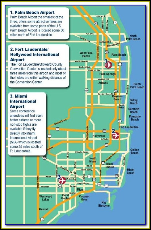 Map Of Ft Lauderdale Beachfront Hotels