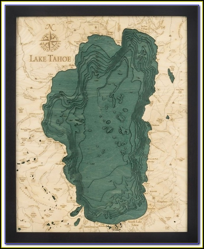Map Of Motels In South Lake Tahoe