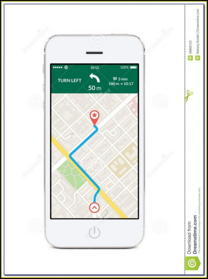 Map Routing App Iphone