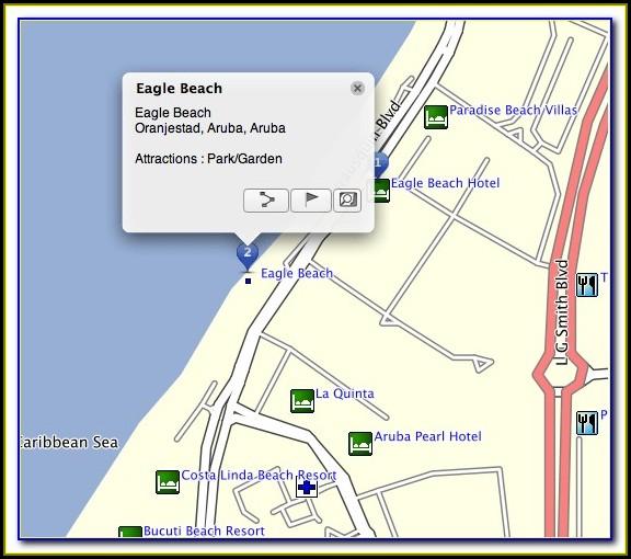 Mapa Garmin Aruba