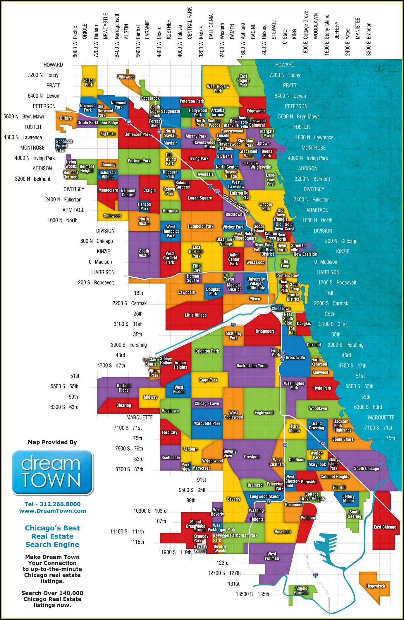 Maps Of Chicago Neighborhoods