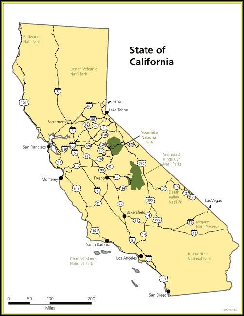 Maps Of Yosemite