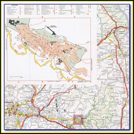 Michelin Map Of Northern Italy