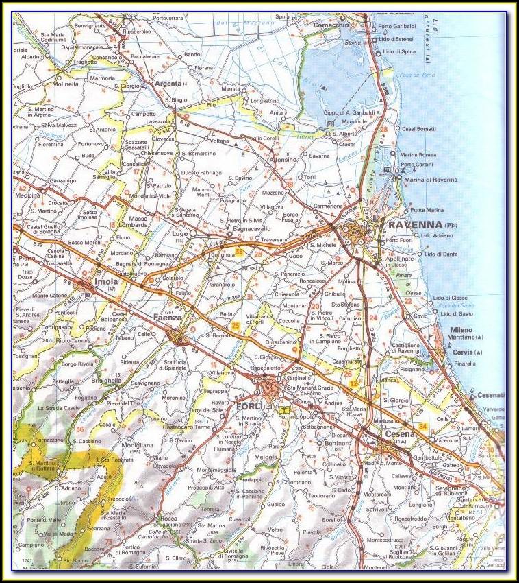 Michelin Regional Maps Of Italy