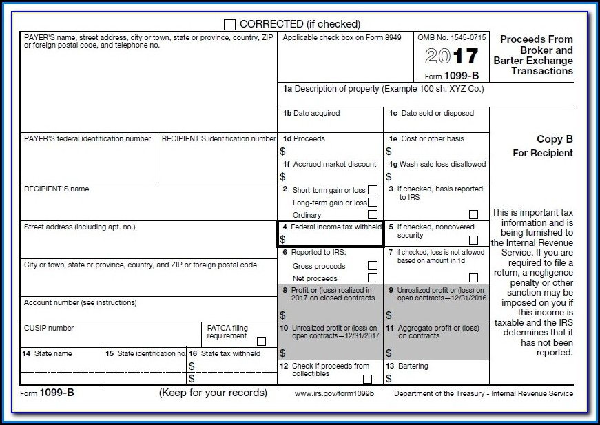 Free 1099 Misc Form 2016