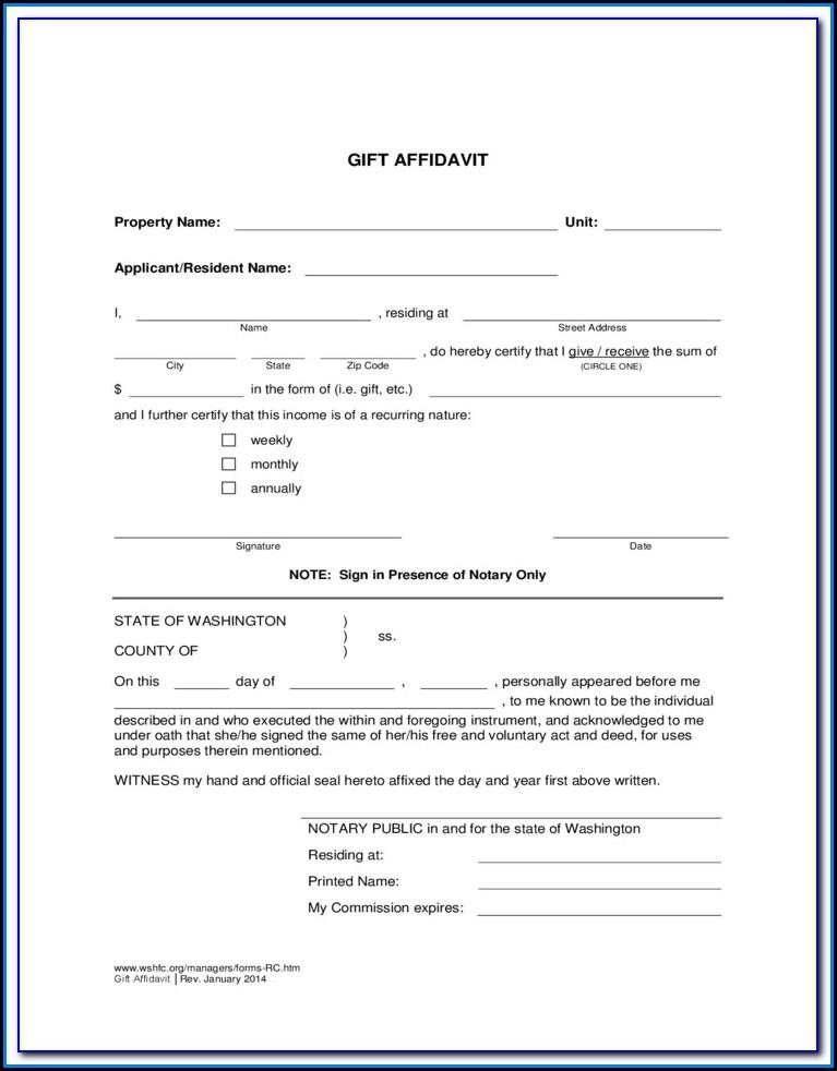 Free Affidavit Of Non Prosecution Form Texas