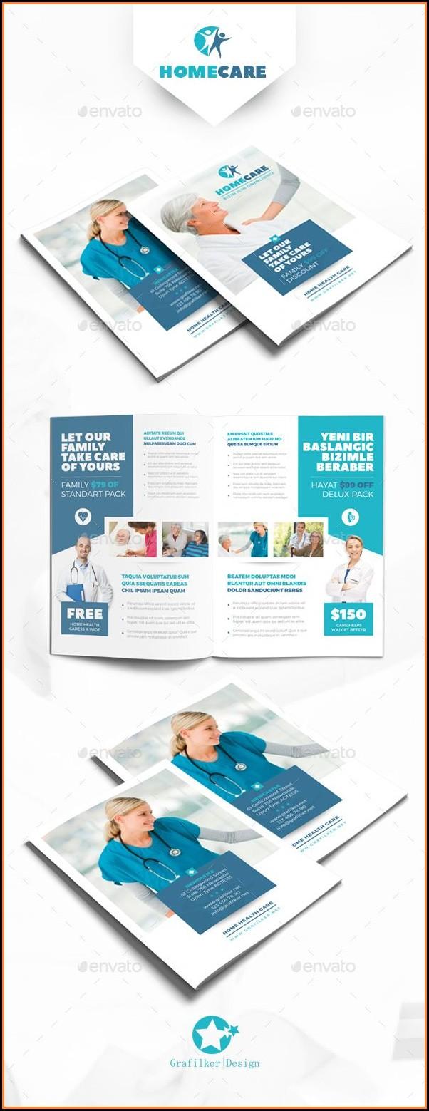 Home Health Care Brochure Templates