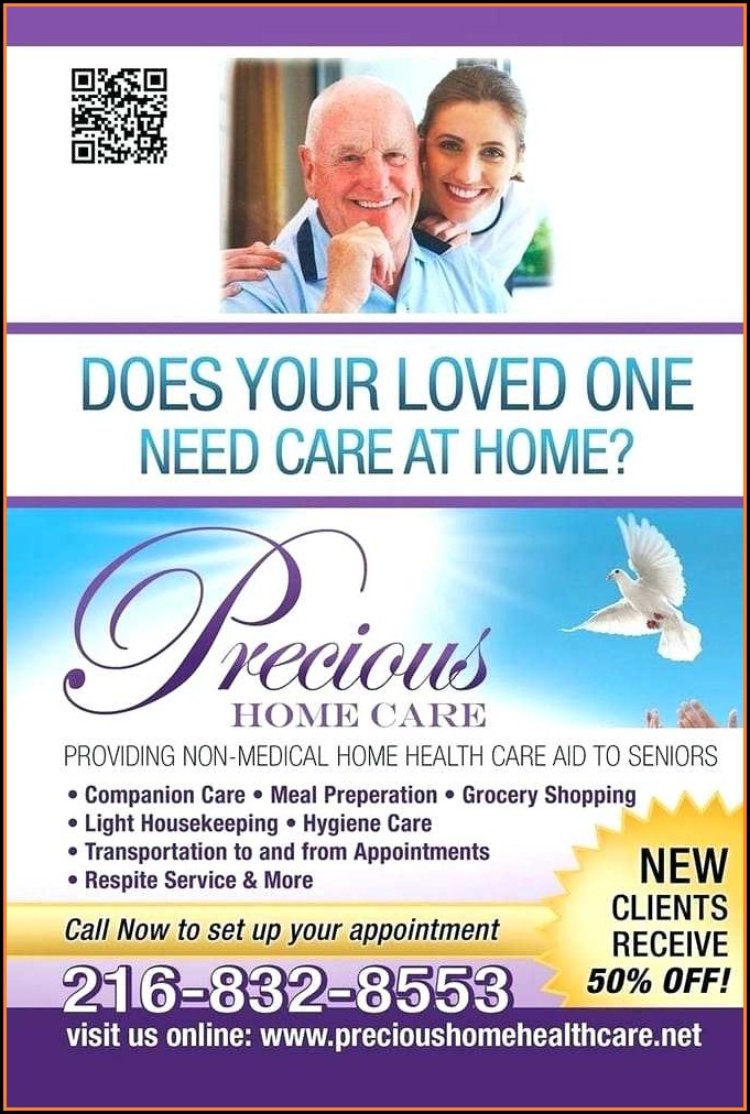 Home Health Care Flyer Samples