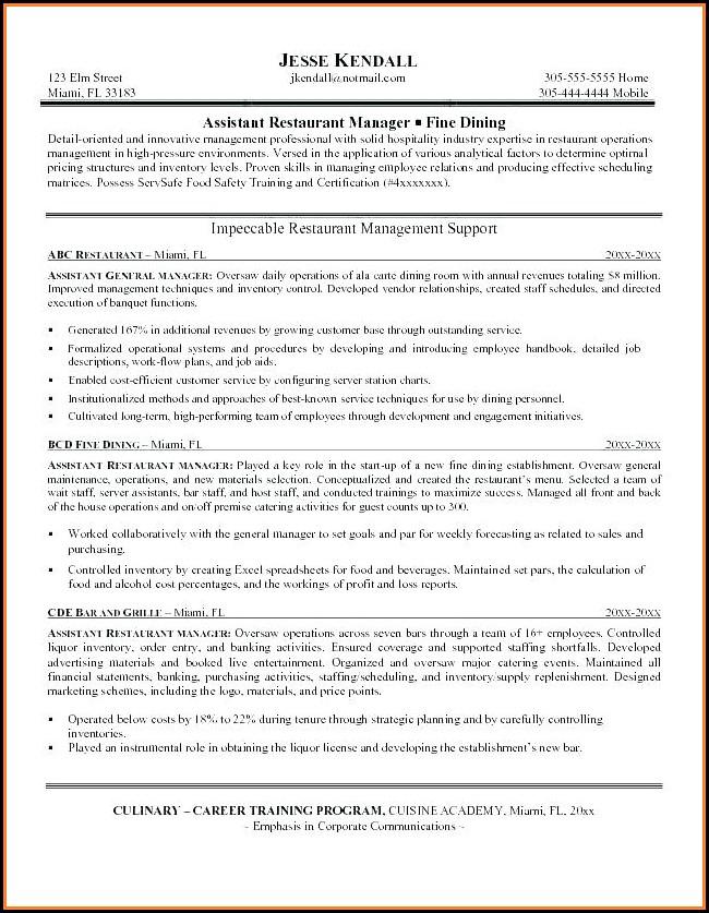 Hotel Maintenance Job Description Template