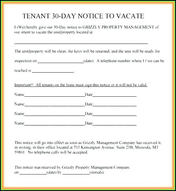 Illinois 10 Day Eviction Notice Form