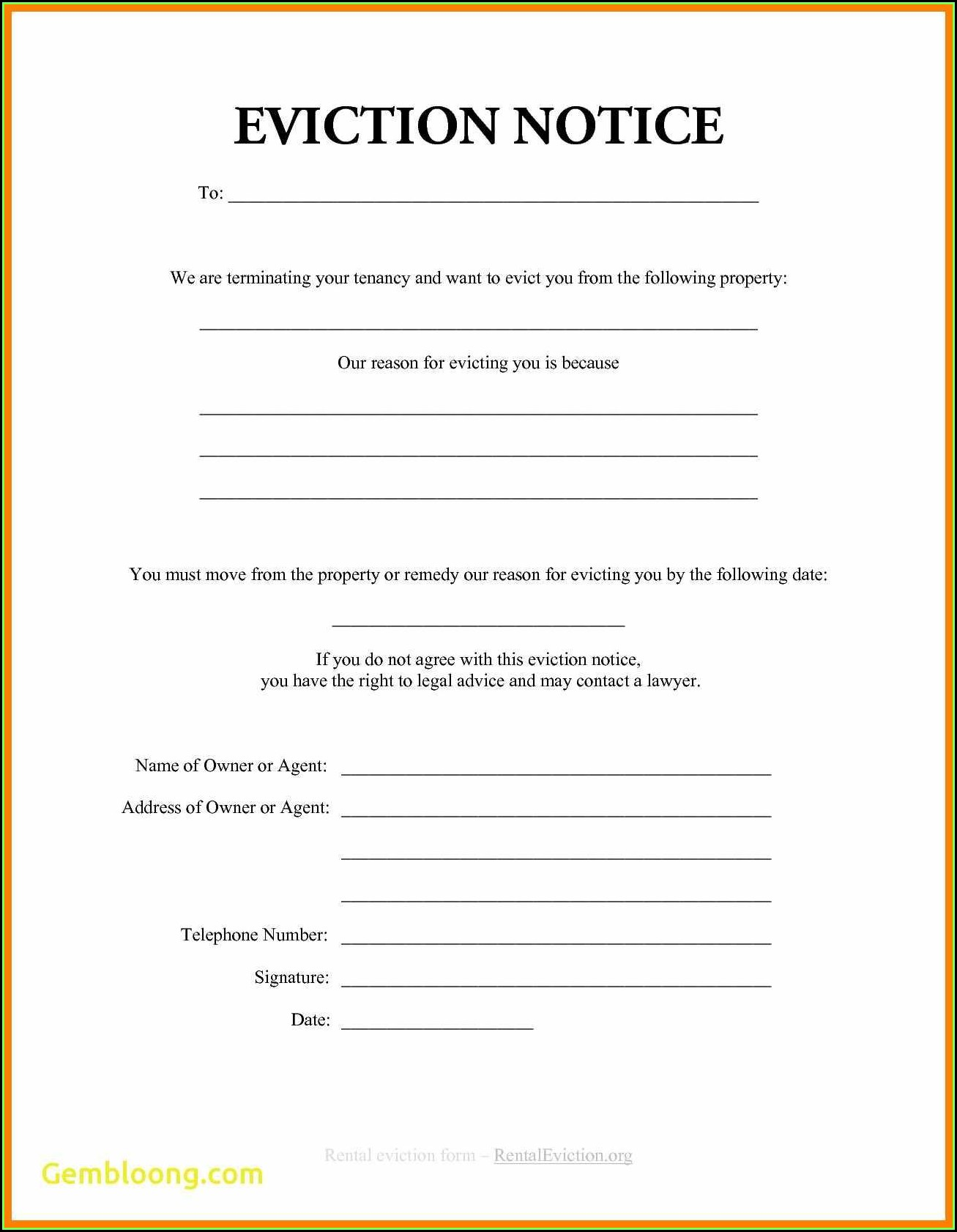Illinois 30 Day Eviction Notice Form